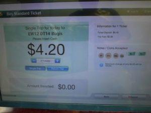 新加坡交通卡扣票